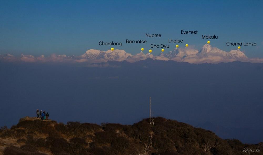 Sandhakphu trek 1